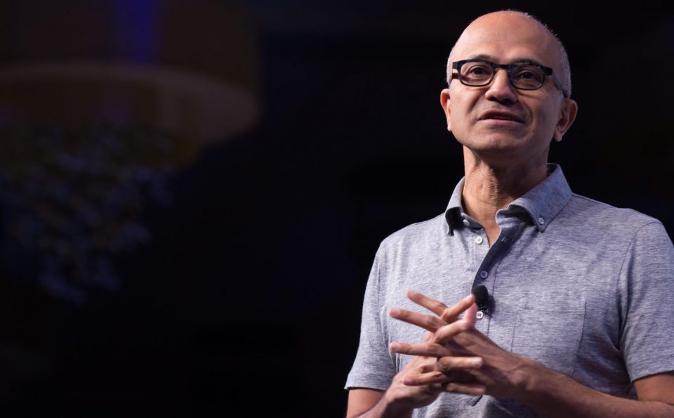 Microsoft CEO Satya Nadella #1 At Fortune's Businessperson Of The Year'19